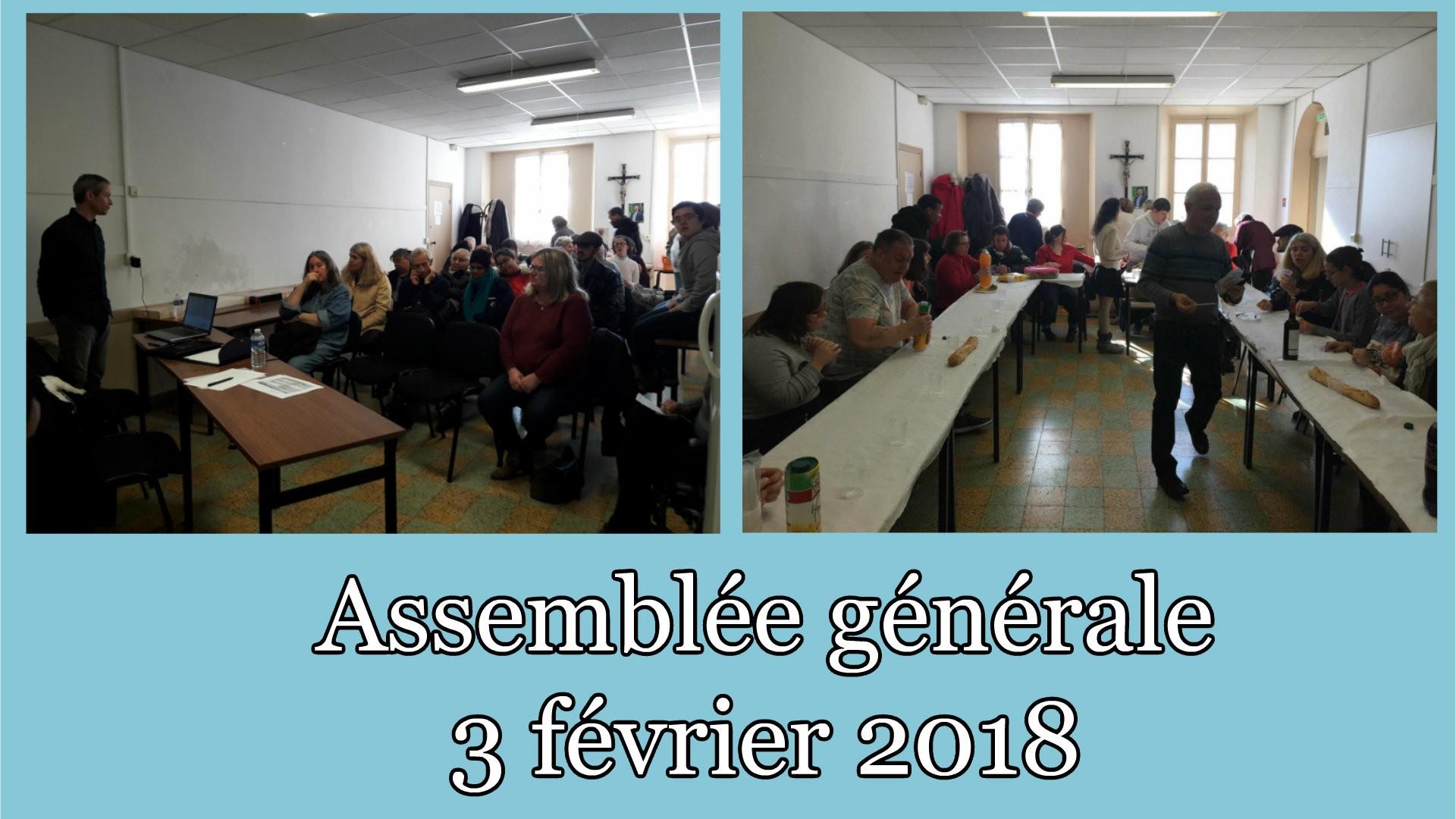 Assemblee Générale 2018