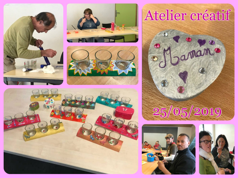 Atelier créatif 25.05.2019