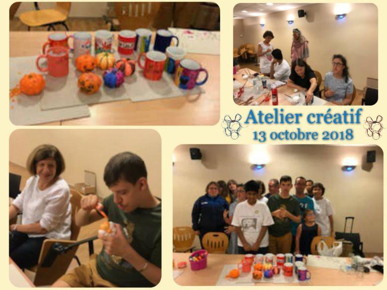 Atelier créatif 13.10.2018