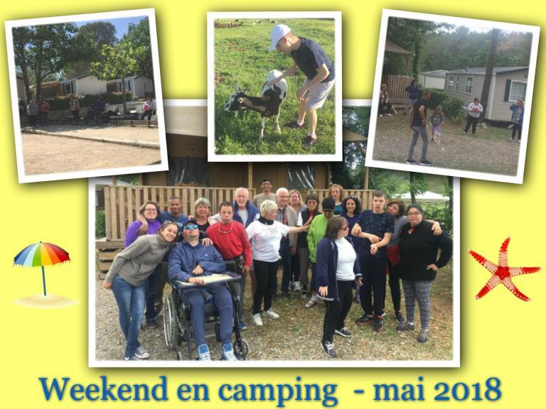 Camping du 11 au 13 mai 2018