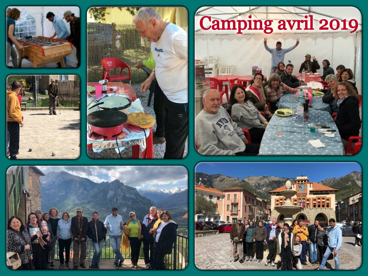 Camping avril 2019