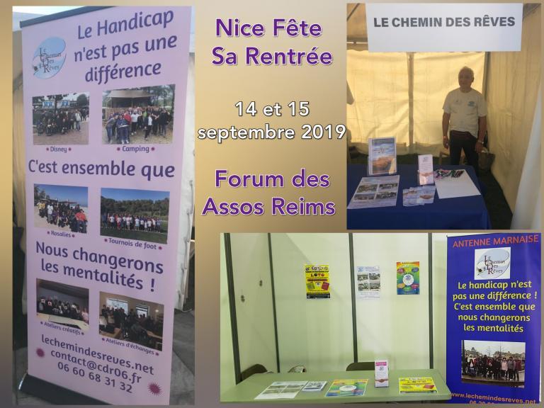 Forum des Associations Nice et Reims