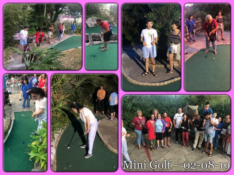 Mini Golf 02.08.2019