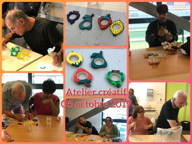 Atelier créatif 05.10.2019
