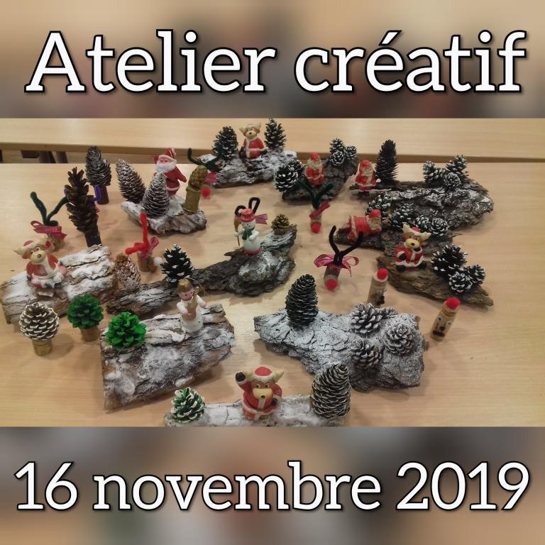Atelier Créatif 16.11.2019