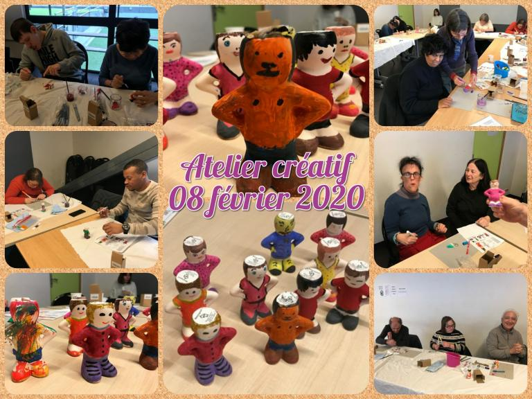 Atelier créatif 08.02.2020