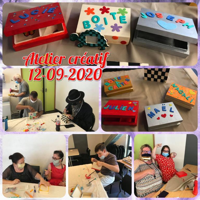 Atelier créatif 12.09.2020